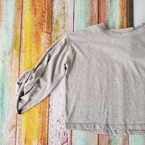 Donna Karan Tops - Donna Karan Athleisure Knit Sweatshirt Top S